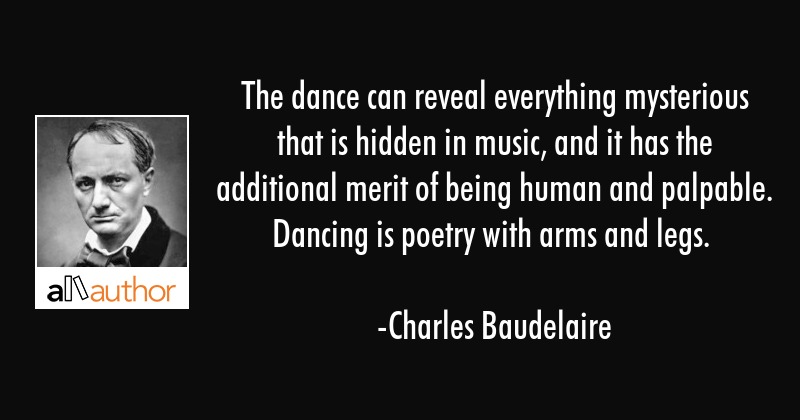 The Dance Can Reveal Everything Mysterious Quote
