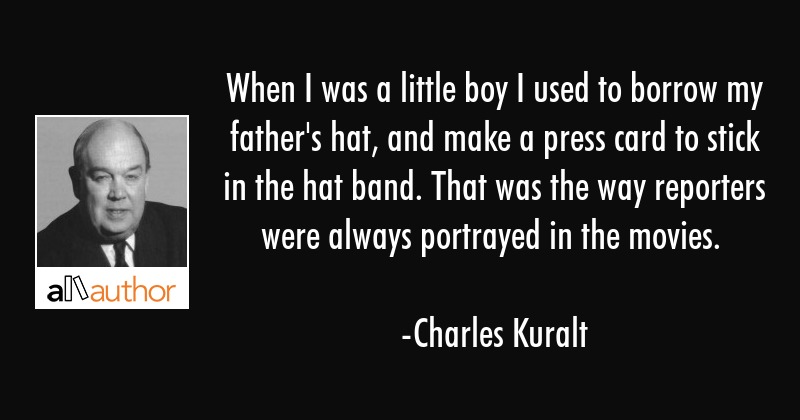 When I was a little boy I used to borrow my father\