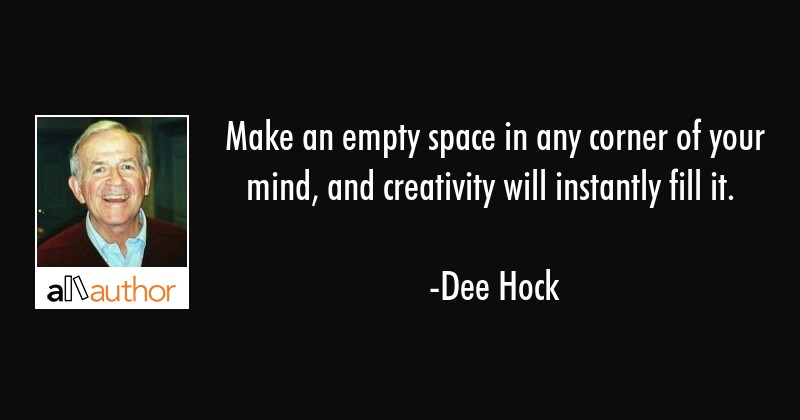 Make An Empty Space In Any Corner Of Your Quote