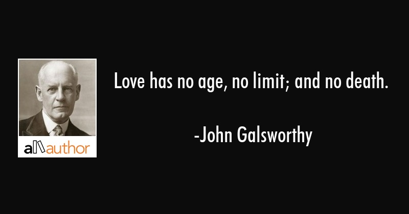 Love Has No Age No Limit And No Death Quote