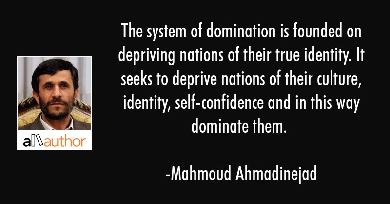 The System Of Domination Is Founded On Quote