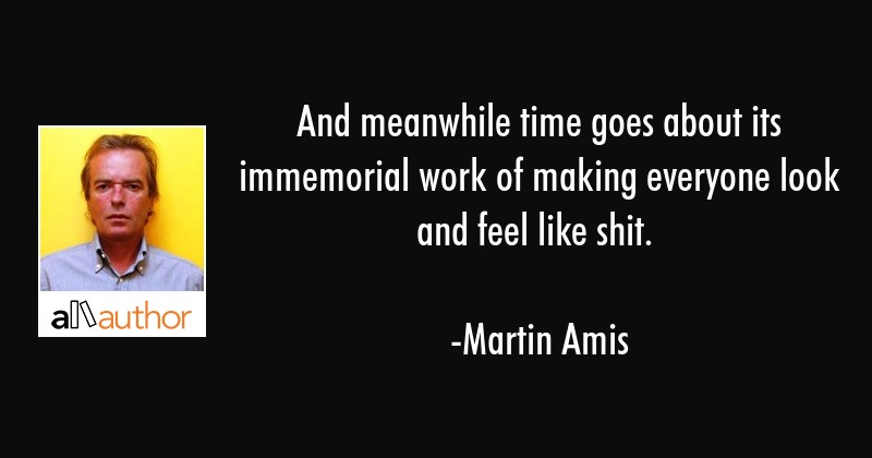 And Meanwhile Time Goes About Its Immemorial Quote
