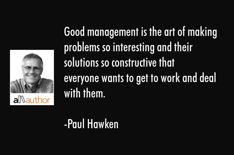 The Art Of The Deal Quotes Mesmerizing Good Management Is The Art Of Making Quote