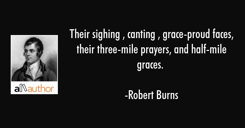 Their Sighing Canting Grace Proud Faces Quote