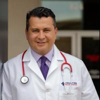 Author, Harvey Castro, MD