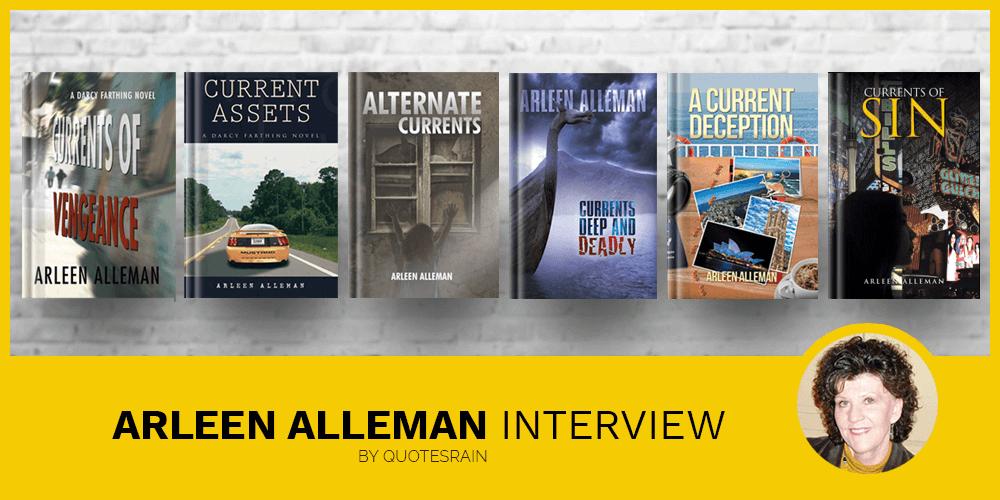 Arleen Alleman latest interview by AllAuthor