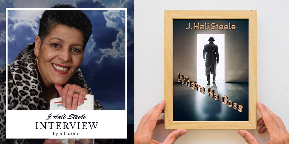J. Hali Steele latest interview by AllAuthor