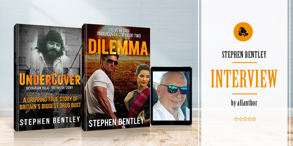 Stephen Bentley latest interview by AllAuthor