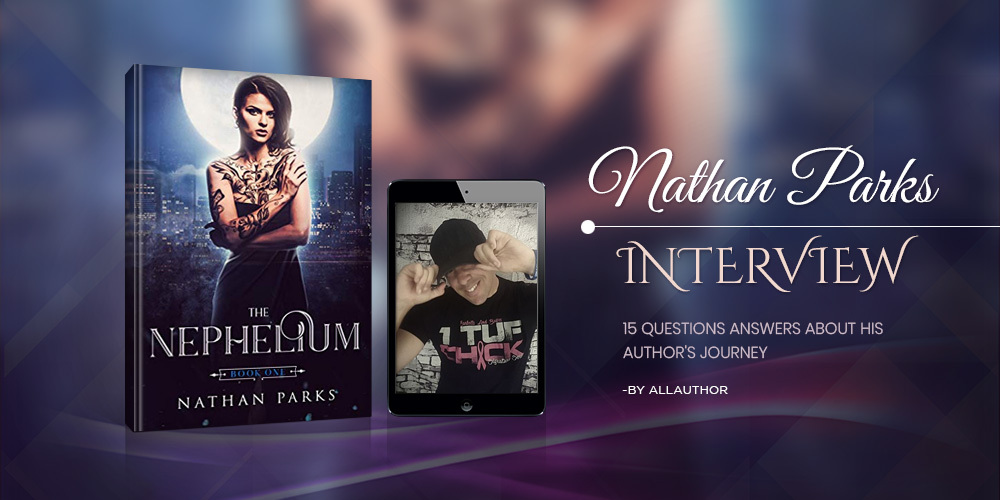 Nathan Parks latest interview by AllAuthor