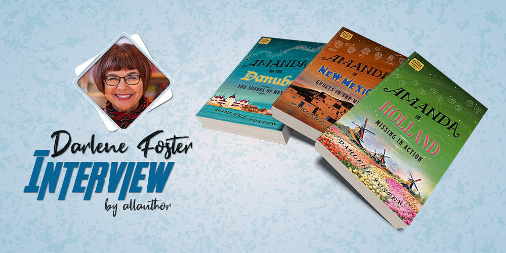 Darlene Foster latest interview by AllAuthor