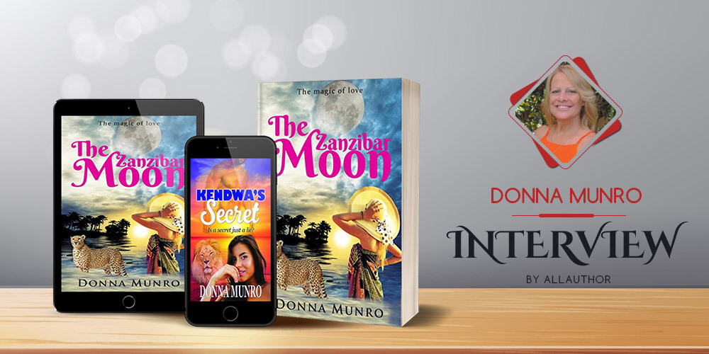Donna Munro latest interview by AllAuthor