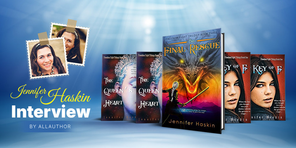 Jennifer Haskin latest interview by AllAuthor