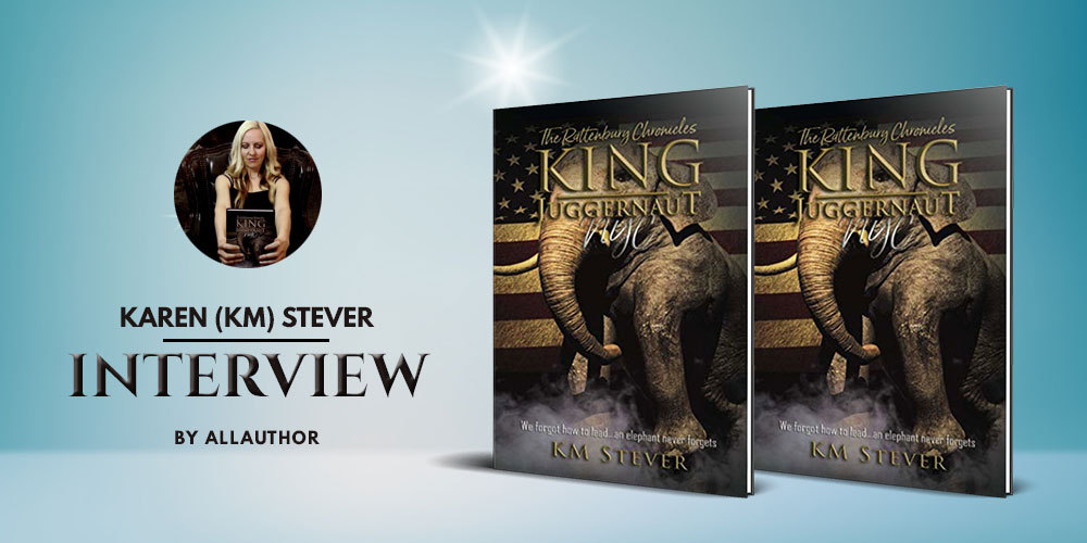 Karen (KM) Stever latest interview by AllAuthor