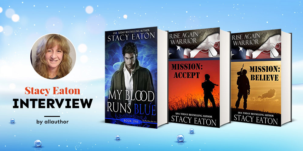 Stacy Eaton latest interview by AllAuthor