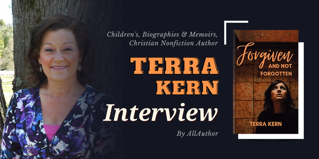 Terra Kern latest interview by AllAuthor