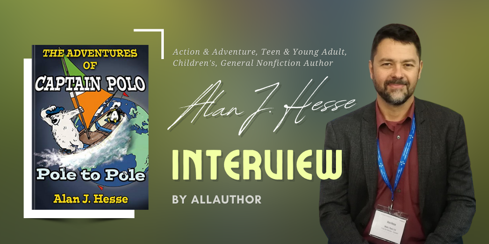 Alan J. Hesse latest interview by AllAuthor